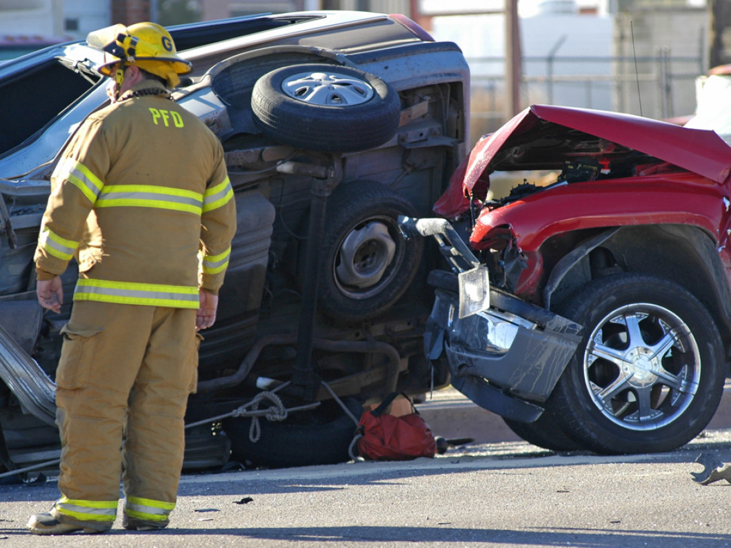 What to do if in case of a car accident